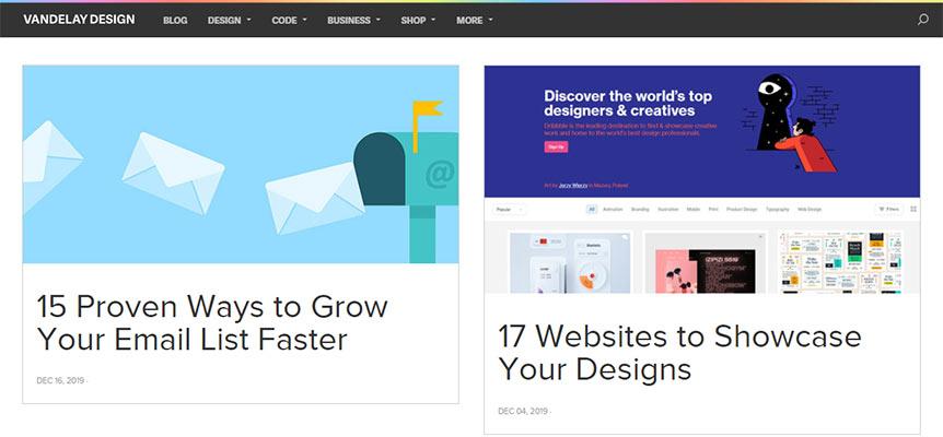 blog thiết kế Vandelay Design
