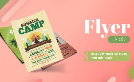 flyer là gì? Bí quyết thiết kế Flyer