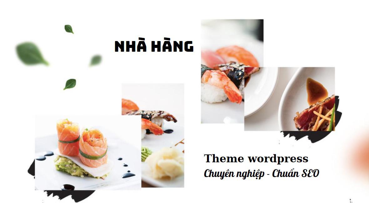Top 5 theme wordpress nhà hàng thông dụng, chuyên nghiệp