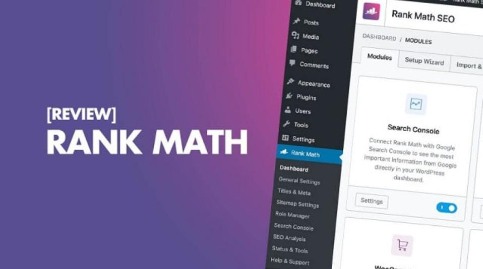 Hướng dẫn cài đặt và cấu hình Rank Math