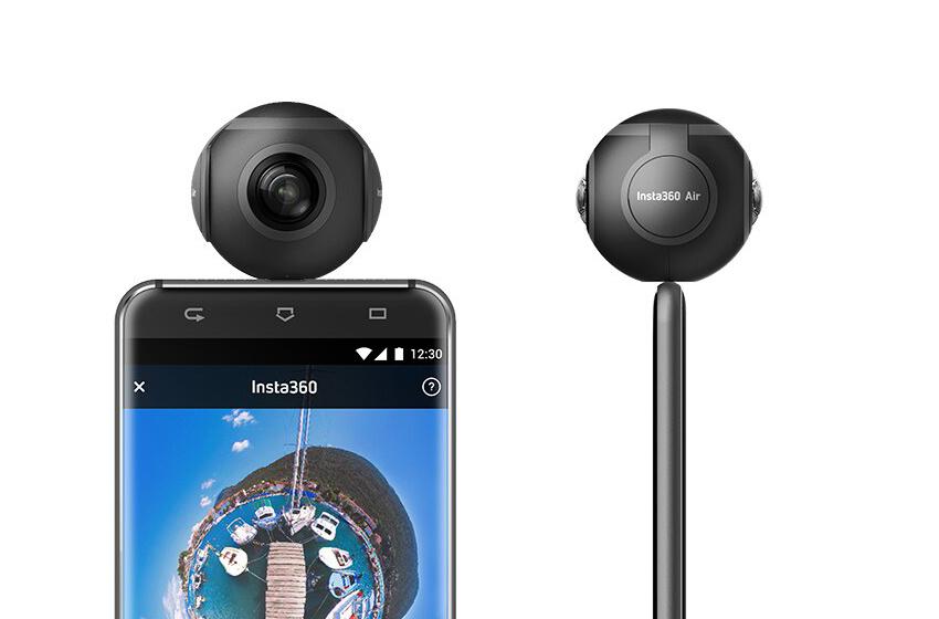 Insta360 Air - máy chụp hỉnh 360 độ có thiết kế nhỏ gọn