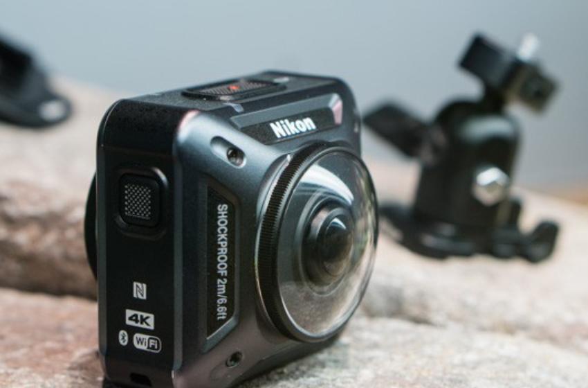 Nikon KeyMission 360 - máy chụp hình 360 cho dân hành động