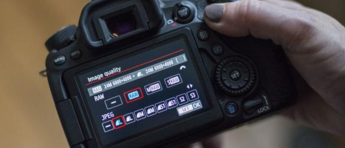 cài đặt máy ảnh để chụp panorama