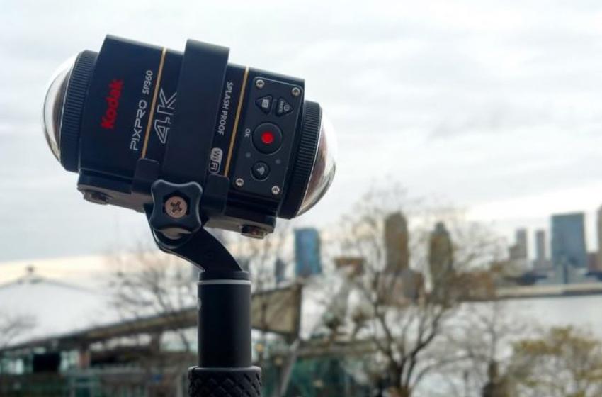 Kodak PixPro SP360 4K - Máy ảnh 360 độ cho thể thao