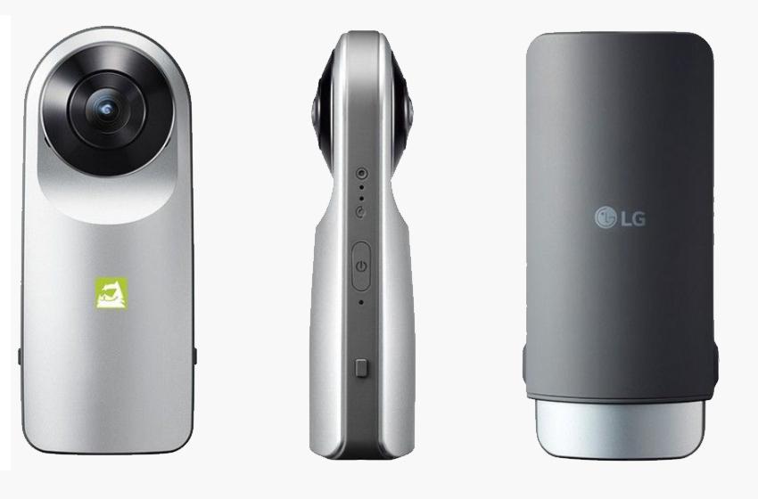 LG 360 Cam - Máy chụp hình 360 độ có thiết kế đơn giản