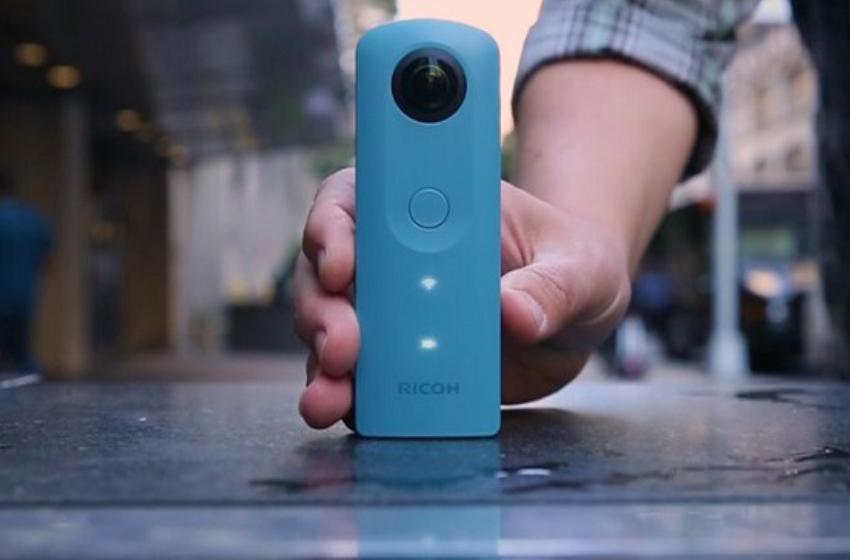 Ricoh Theta V máy chụp hình 360 độ thiết kế đẹp nhất